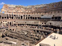 View of the and quot;skeleton and quot; of the Colosseum , Barry S - May 2014