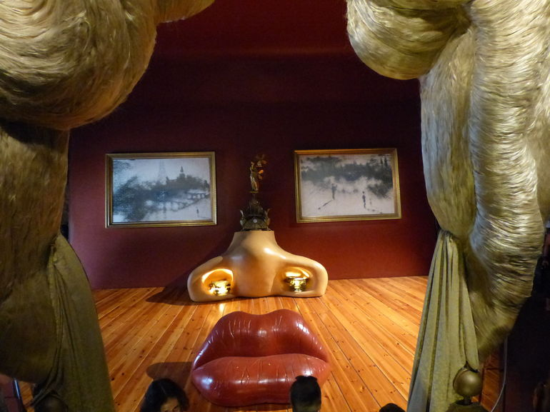 Dali's museum in Figueres, May West room... - Barcelona