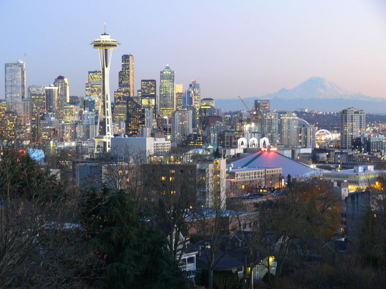 from Queen Anne Hill