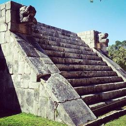 Photo of Cancun Viator Exclusive: Early Access to Chichen Itza with a Private Archeologist funky steps i forgot the name of!