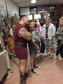 Roman gladiator training wow awesome : , Angelina L - November 2015