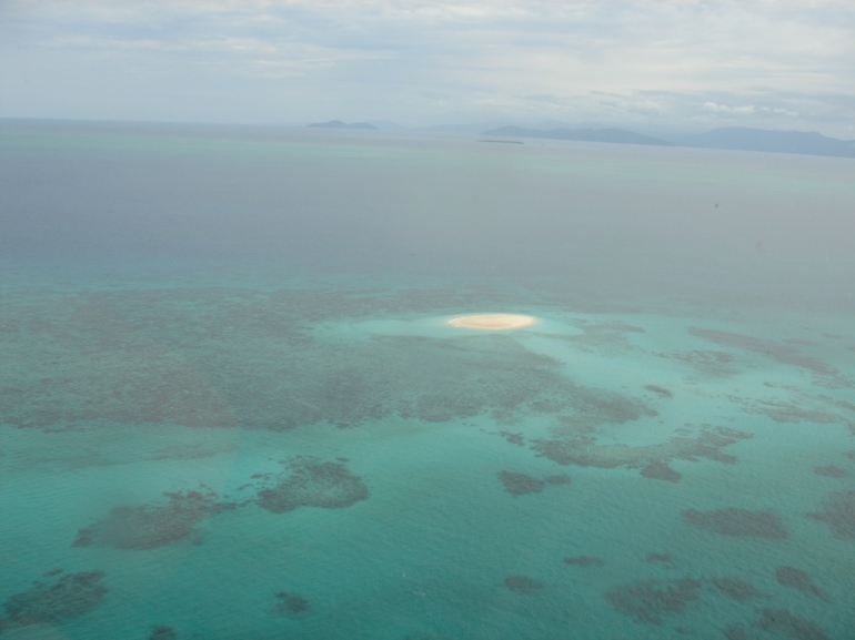 Great Barrier Reef from the sky -