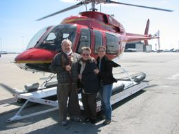 Photo of San Francisco San Francisco Vista Grande Helicopter Tour Happy faces!