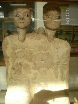One of the best preserved/oldest statues of human forms., Cheryl W - May 2008