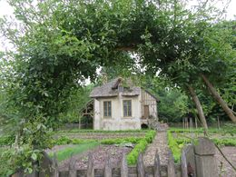 One of the little houses on Marie-Antoinette's estate. , Anne W - June 2016