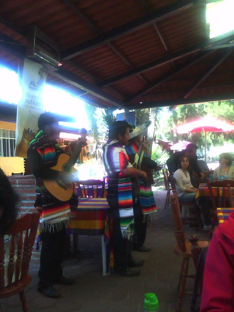 Mariachi Band at Lunch - Mexico City
