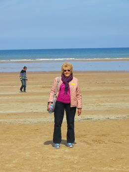 Photo of Paris Normandy D-Day Battlefields and Beaches Day Trip On the beach
