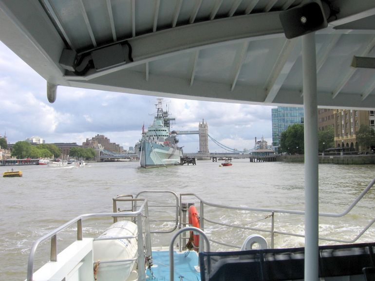 On the river Thames - London