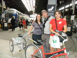 Photo of Paris Giverny and Monet's Garden Bike Tour St. Lazare station, so famously painted by Monet.