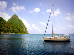 St Lucia Catamaran Day Sail - March 2012