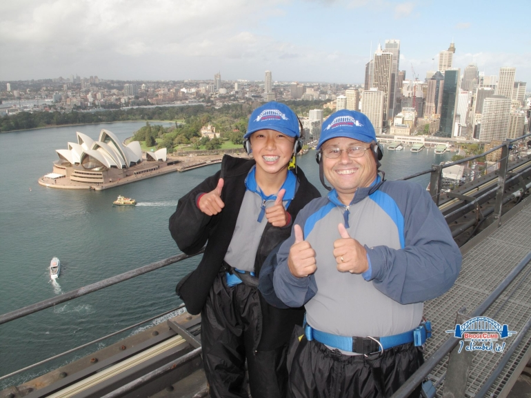 Sydney Harbor Bridge Climb 2010 - Sydney