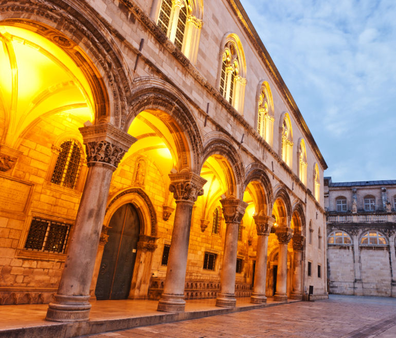 The Rector's Palace In Dubrovnik, Croatia - Dubrovnik