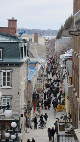 Photo of Montreal Quebec City and Montmorency Falls Day Trip from Montreal Top view