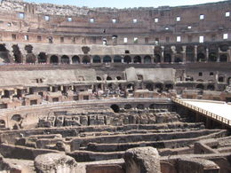 Photo of Rome Skip the Line: Ancient Rome and Colosseum Half-Day Walking Tour Arena View