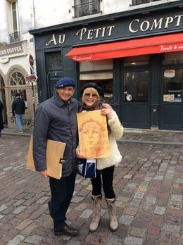 Photo of   Artist at Montmartre