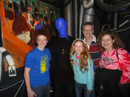 Photo of Chicago Blue Man Group at the Briar Street Theater in Chicago Blue Man Group