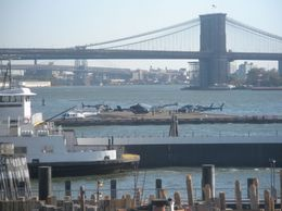 Photo of null New York in One Day Sightseeing Tour Brooklyn Bridge viewed from the water