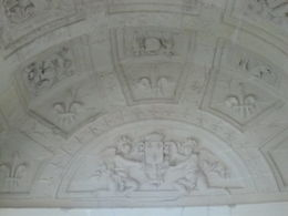 Photo of Paris Loire Valley Castles Day Trip: Chambord, Cheverny and Chenonceau Ceiling in Chambord Chateau