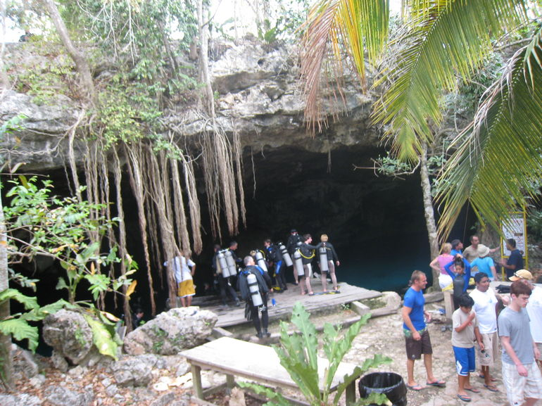 Cenote Cave Dive in Tulum -