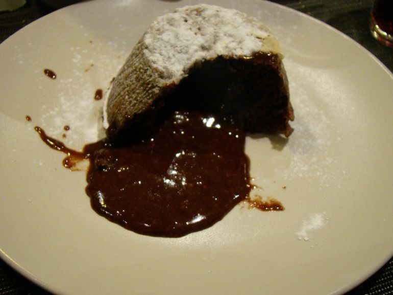 Chocolate Lava Cake - Paris