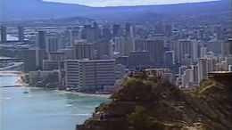 The view of Diamond Head Crater on the Oahu Helicopter Tour - July 2011