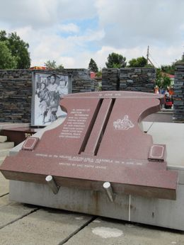 Hector Pieterson Memorial - February 2010