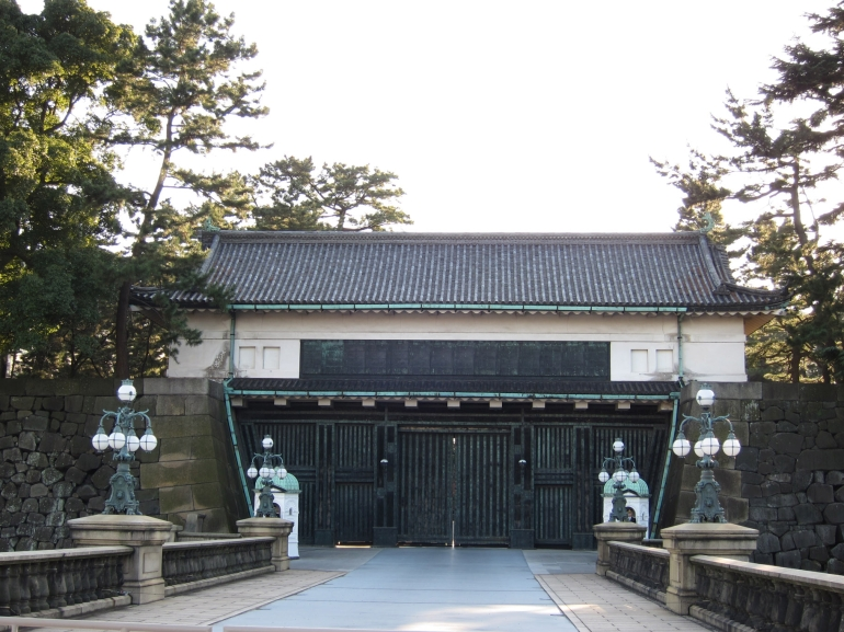 Imperial Palace Gatehouse - Tokyo