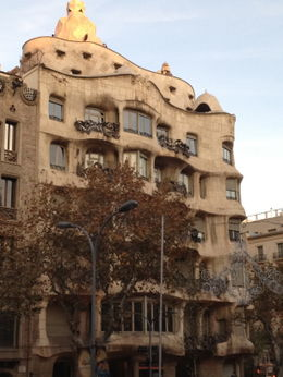 Photo of Barcelona Barcelona Shore Excursion: Barcelona City Hop-on Hop-off Tour La Pedrera.jpg