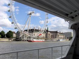Photo of London Thames Clippers River Roamer: Hop On Hop Off Pass London Eye