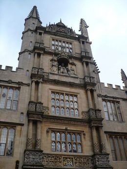 One of the nice buildings we seen in oxford., Amor - February 2010
