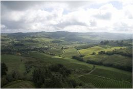 The valley in the Chianti region , Patrick H - October 2012