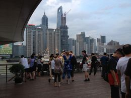 View from the Huangpu River, Cat - August 2012