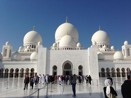 Photo of Dubai Private Tour: Abu Dhabi Sightseeing with Transport from Dubai Sheikh Zayed Mosque