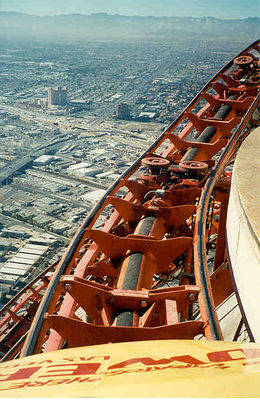 Stratosphere by P199 via Wikipedia ~ used under Public Domain - May 2011