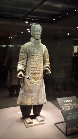 Terracotta Warrior Display , Dennis F - June 2015