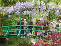 Photo of Paris Versailles and Giverny Day Trip THe Bridge at the Lily pond