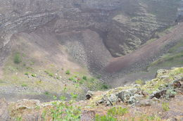 Inside the crater at the top of Mt. Vesuvius. , Cherie B - August 2015