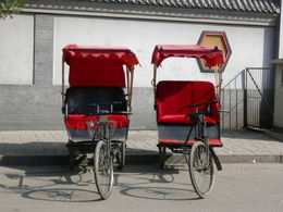 Photo of   Twin Chinese Rickshaws