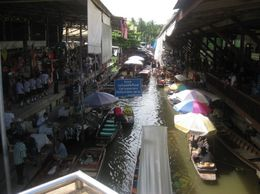 Photo of Bangkok Floating Markets of Damnoen Saduak Cruise Day Trip from Bangkok Typical market morning