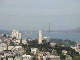 Photo of San Francisco San Francisco Vista Grande Helicopter Tour View of the Coit Tower