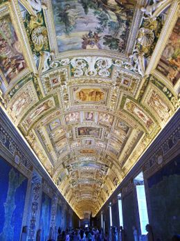 Vatican Museum...Hall of Maps.... , Micheal J - June 2012
