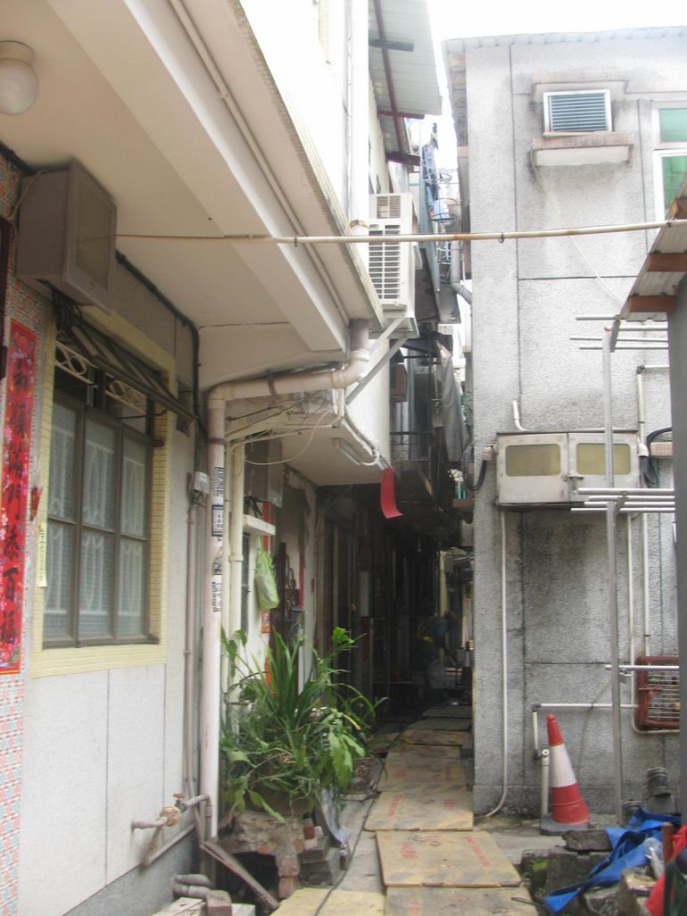 Area being redeveoped - Hong Kong