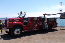 Photo of San Francisco San Francisco Fire Engine Tour Big red Mack 55