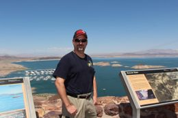 Photo of Las Vegas Ultimate Hoover Dam Tour Brian and lake Mead