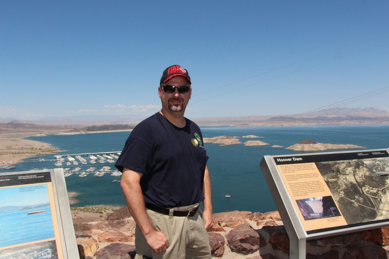 Brian and lake Mead - Las Vegas
