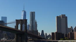 Photo of New York City Manhattan Harbor Cruise Brklyn Bridge with NYC Skyline