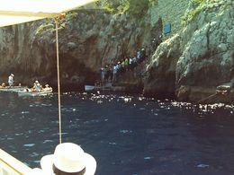 Leaving Blue Grotto. - August 2008