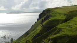 Photo of Edinburgh 3-Day Isle of Skye Small-Group Tour from Edinburgh Coastline North of Portree
