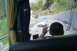 Photo of Milan Swiss Alps Bernina Express Rail Tour from Milan Driving the Hair Pin Bends