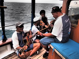 Photo of Fiji Fijian Islands and Snorkel Full-Day Whales Tale Cruise including Beach BBQ Lunch Entertainment
